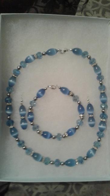3 Piece light Blue Set